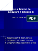 Modele Si Tehnici de Asigurare a Disciplinei 2018 Color