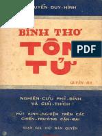 Binh Thơ Tôn Tử Quyển Hạ (NXB Học Thuật 1958) - Nguyễn Duy Hinh, 198 Trang.pdf