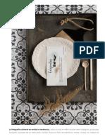 5 Consejos Para Hacer Fotografía Culinaria en Cenital. - Tobegourmet
