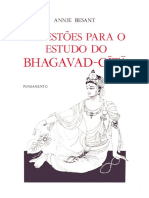 Annie Besant - Sugestões Para o Estudo Do Bhagavad-Gítã