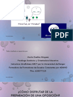 Taller Preparación Oposiciones PDF