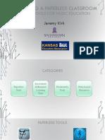 Creating a Paperless Classroom - KMEA - Handout
