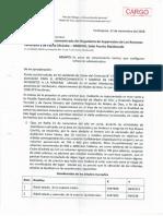 Domingo Quispe denuncia tala ilegal ante el Osinfor