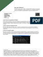 DOS Liste Complète Des Commandes Cmd (_MS-Dos_)
