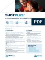 Orica SHOTPlus™ Flyer