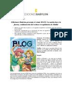 NP Lanzamiento Comic Maliki BLOG 2 Ediciones Babylon