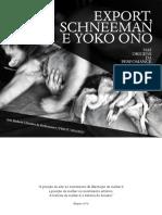 Export, Schneeman e Yoko Ono