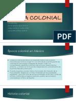 Epoca Colonial Mexico