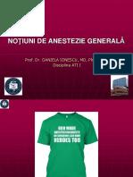 Curs Anestezie Generala MG-
