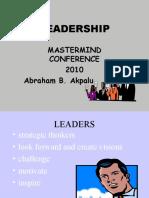 Mastermind Leadership