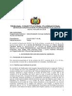 SCP 0319-2018-s2 Marco Antonio Cardozo Jemio - Derecho del Servidor Publico a La No Utilizacion del Ius Varandi por Respeto a La Salud y Vida