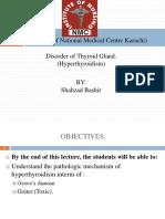 Final Hyperthyroidism.