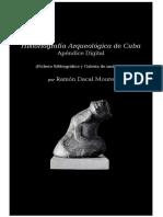 Historiografia Arqueologica de Cuba