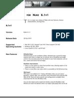 Nuke 6.1v1 Releasenotes