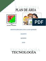 Plan de Area de Tecnologia e Informatica 2018
