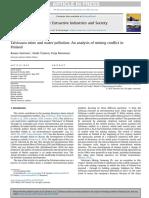 Sairinen, R., Tiainen, H., & Mononen, T. (2017). Talvivaara Mine and Water Pollution. an Analysis of Mining Conflict in Finland.