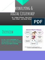 cyberbullying and digital citizenship