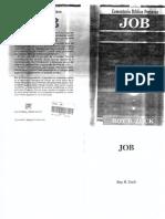 Job - Comentario Bíblioco Portavoz