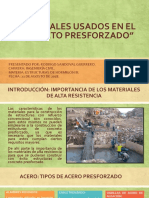 2_materiales Usados en El Concreto Presforzado