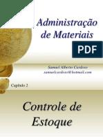 Administração de Materiais Estoques