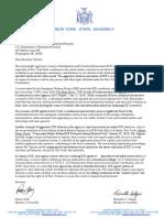 DHS Secretary Nielsen Letter