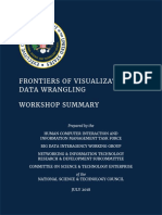 Frontiers of Data Visualization Workshop II
