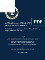 Operationalizing Software-Defined Networks