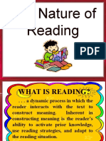 The Nature of Reading