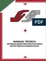 Manual de Entrega Recepción del Estado de Zacatecas