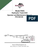 MANUAL DE OPERACION BUCYRUS R30-C (INGLES).pdf