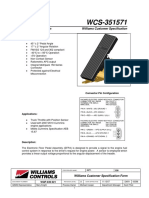 Wm-526 Specification Sheet