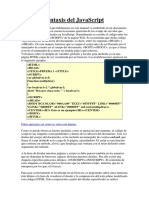 Sintaxis de Javascript