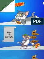 Tom jerry - joc didactic in Powerpoint