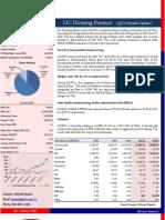 LIC HF Result Analysis (Q2'11)