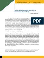 Evaluación de Cuatro Modelos Instruccionales Para La Aplicación de Una Estrategia Didactica