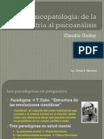 Godoy Claudio - La psicopatología - de la psiquiatría al psicoanálisis.pptx