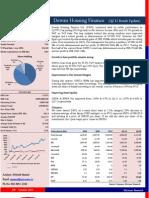 Dewan Housing Finance Result Analysis (Q2'11)