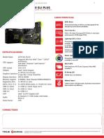 Msi z370 Sli Plus Datasheet