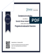 Programa de Educacion Financiero