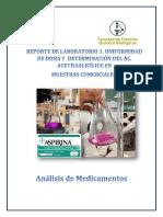 analisis de medicamentos