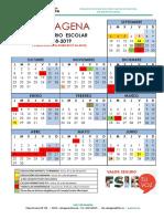Calendario 2018-2019 Cartagena