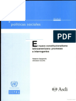 El Nuevo Constitucionalismo Latinoamericano Promesas e Interrogantes