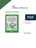 Foucault_La Verdad y Las Formas Jurídicas 4ay5aConferencia