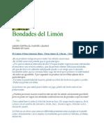 Bondades Del Limon