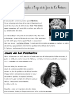 Biographie Esope LaFontaine