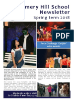 Amery hill school newsletter