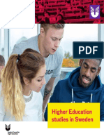Uhr Higher Education in Sweden