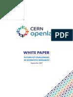 CERN OpenLab Whitepaper Brochure