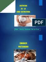 Distocias de Edad Gestacional (1)