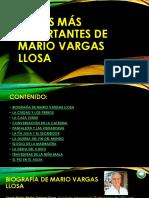 Obras Más Importantes de Mario Vargas Llosa